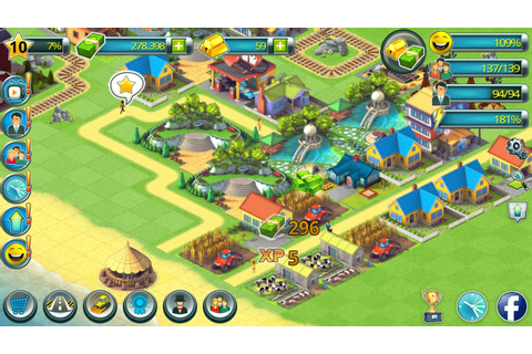 Town Building Games: Tropic Town Island City Sim - Android ...