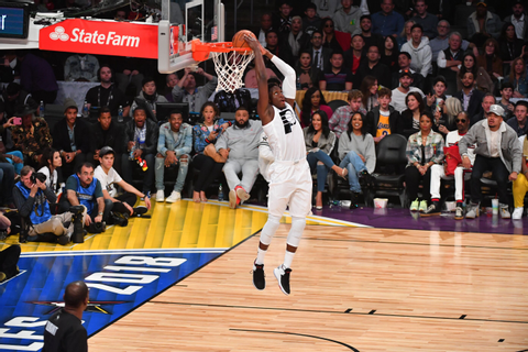 Oladipo throws down better dunk in All-Star Game than Dunk ...