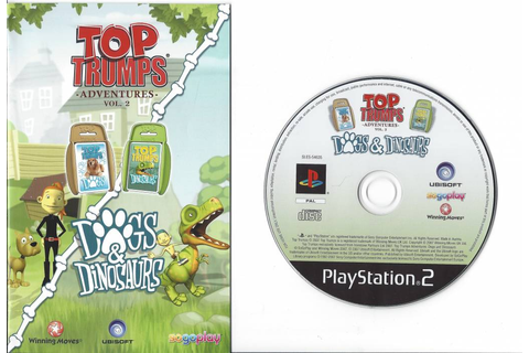 Top Trumps Adventures Dogs and Dinosaurs for Playstation 2 ...