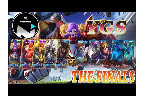 GAME 1 NXP PREDATOR SOLID VS YGS GOOD GAME ASTRAL ...