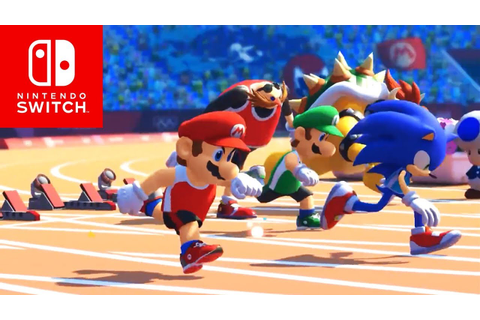 Mario & Sonic Tokyo 2020 Olympic Games Trailer Debut ...