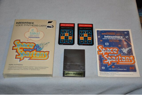 Space Spartans Intellivision Game | eBay