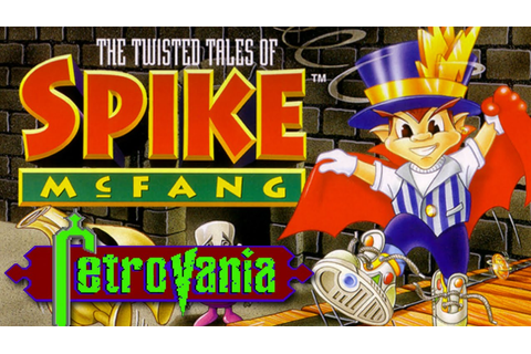Review: The Twisted Tales Of Spike McFang (SNES) A Little ...