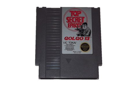 Golgo 13: Top Secret Episode | Culsams Original NES Store ...