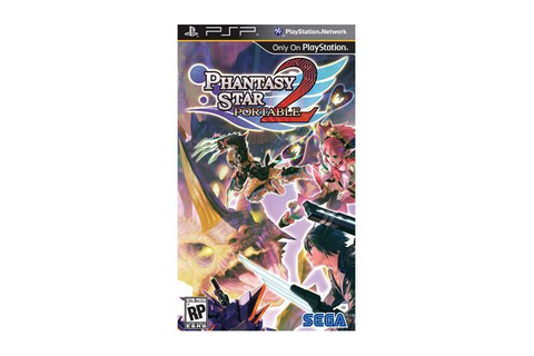 Phantasy Star Portable 2 PSP Game SEGA - Newegg.com