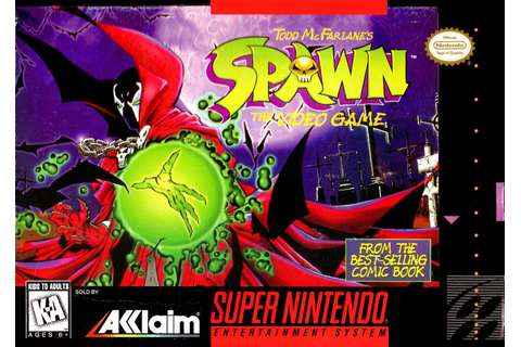 Spawn SNES Super Nintendo