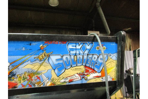 Sky Soldiers Arcade Game | Albert Lea Shed Clean out | K-BID