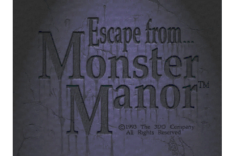 Escape from Monster Manor - A Terrifying Hunt for the ...