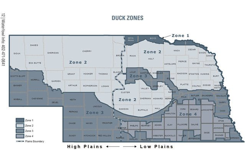 Duck hunters need to know all zones and boundaries ...