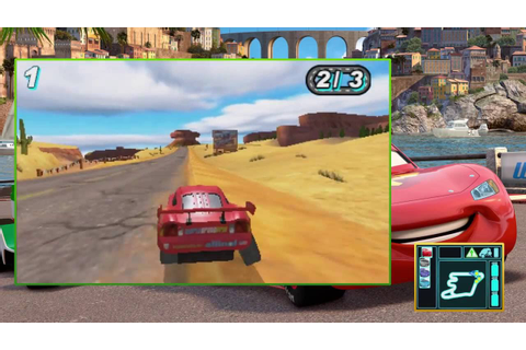 Cars 2 The Video Game 3DS Gameplay - YouTube
