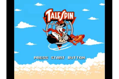 Disney's TaleSpin (NES) Music - Game Over - YouTube