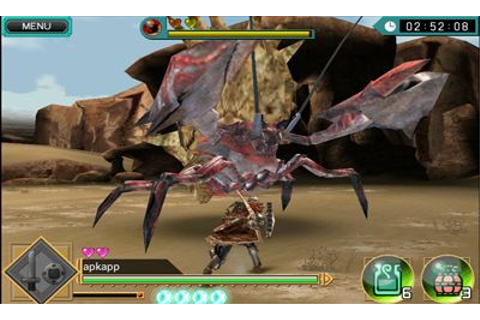 Monster Hunter Dynamic Hunting Android apk game. Monster ...