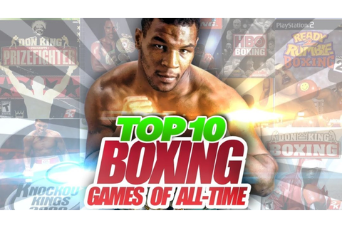 Top 10 Boxing Games of All-Time - Sports Gamers Online