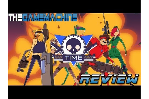 The Game Machine: Super Time Force Review (Xbox One) - YouTube
