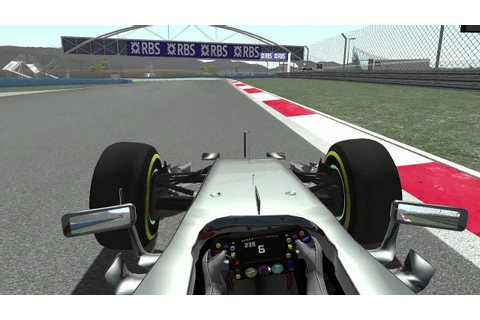 Rfactor2 fsr f1 2016 mod beta - YouTube