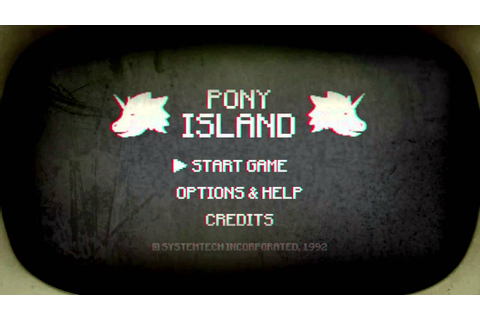 Pony Island - OLD STEAM GREENLIGHT TRAILER - YouTube
