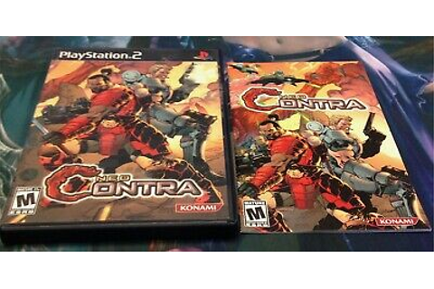 NEO CONTRA - PS2 Playstation 2 Game - Complete In Box CIB ...
