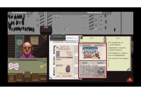 Game Review #9: Papers, Please