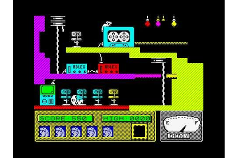 Moley Christmas ZX Spectrum © 1987 Gremlin Graphics - YouTube