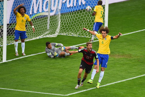 Germany vs. Brazil 2014 World Cup Game | Pictures ...