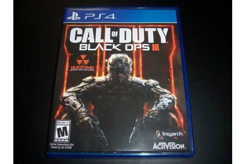 Replacement Case (NO GAME) CALL OF DUTY BLACK OPS III 3 ...
