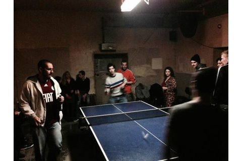 Live action ping pong shot - Picture of Dr. Pong, Berlin ...