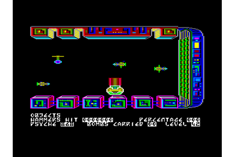 Nonterraqueous by Mastertronic on Amstrad CPC (1985)
