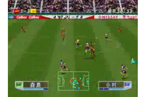 "J.League Jikkyou Winning Eleven 3 ""All-Star game"" - YouTube"