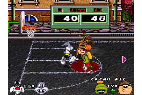 Looney Tunes Basketball Bugs Bunny y Silvestre VS Marvin y ...