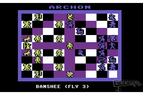 Archon: The Light and The Dark – Commodore 64 Screenshot ...