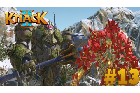 Knack 2 Gameplay Very Hard (PS4) Part 13 - Big Fat Robots ...