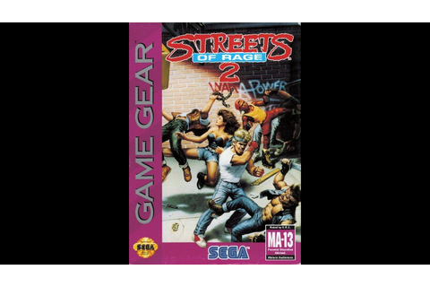 Streets of Rage 2 (Sega Game Gear) - YouTube