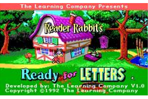Reader Rabbit's Ready for Letters Download (1992 ...