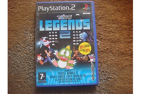 Sony PlayStation 2 PS2 Game Taito Legends 2 • EUR 9,17 ...
