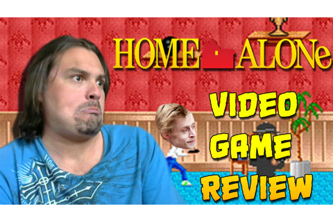 Home Alone Games - Video Game Review - YouTube