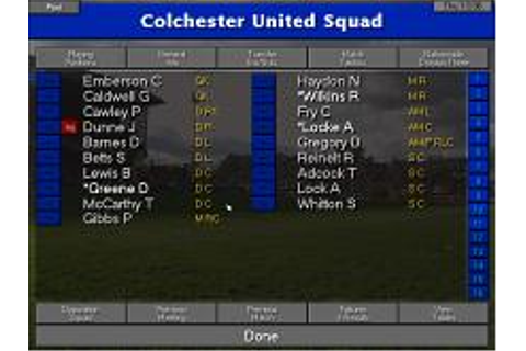Championship Manager 96/97 Download (1996 Sports Game)