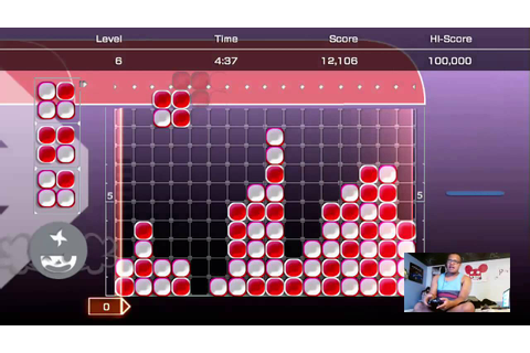 LUMINES LIVE! :D - YouTube