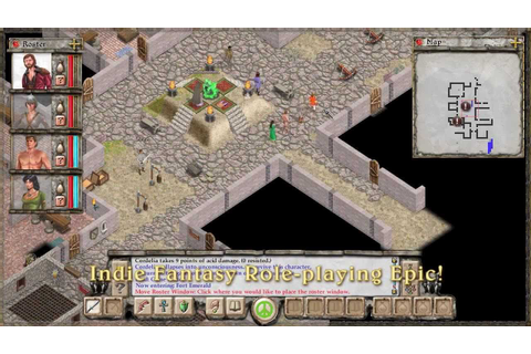 AVERNUM ESCAPE FROM THE PIT is an isometroc turn-based ...