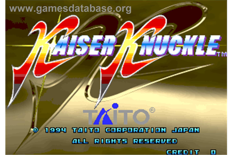 Kaiser Knuckle - Arcade - Games Database