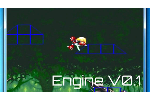 Megaman X Engine Editable v0.1[Game Maker][DOWNLOAD] - YouTube
