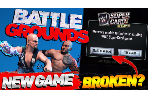 WWE 2K BATTLEGROUNDS BRAND NEW GAME! NEW GAME MODES FOR ...