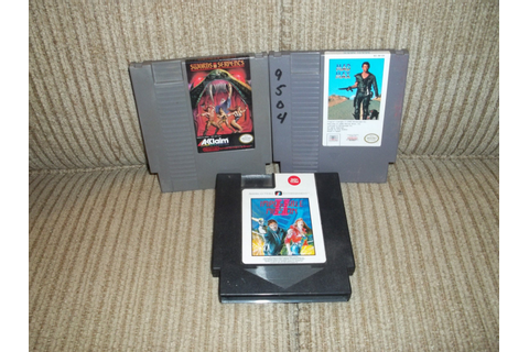 NES NINTENDO Game Cartridges. Mad Max Swords by TotallyRetroToys