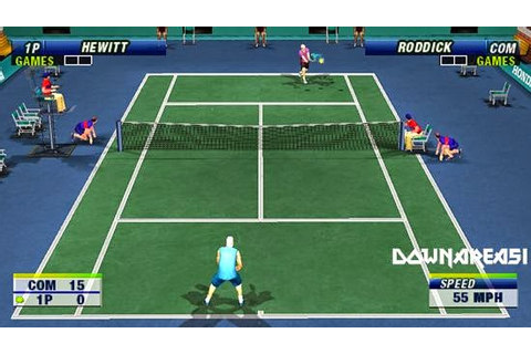 Virtua Tennis World Tour PSP ISO | Free Download Game & Apk