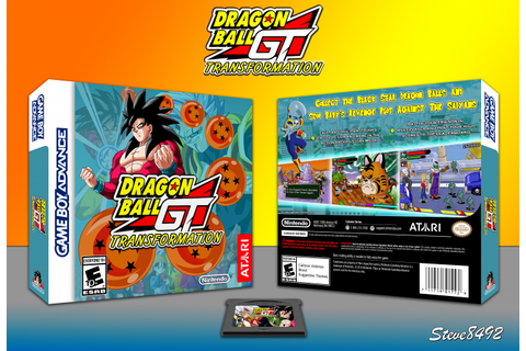 Dragonball GT: Transformation Game Boy Advance Box Art ...
