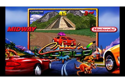 Cruis'n World (1996) Midway Mame Retrô Arcade Games - YouTube