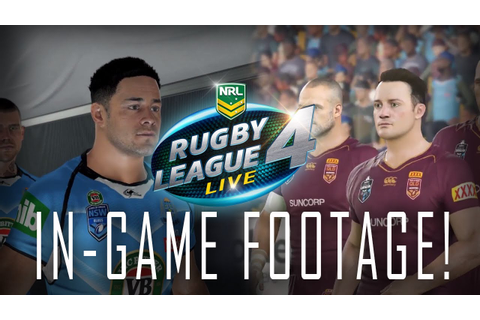 RUGBY LEAGUE LIVE 4 | IN-GAME FOOTAGE | INITIAL REACTION ...
