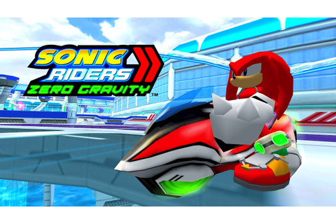 Sonic Riders Zero Gravity - Aquatic Capital - Knuckles ...