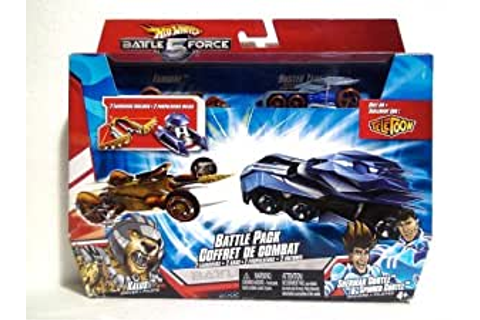 Amazon.com: Hot Wheels Battle Force 5 Two Car Set Battle ...