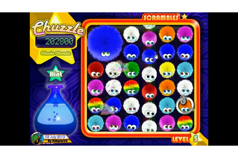 Chuzzle (2005, PC) - Classic: 392,990 points [720p] - YouTube