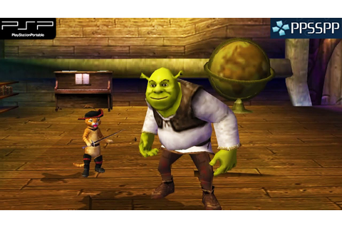 Shrek the Third - PSP Gameplay 1080p (PPSSPP) - YouTube